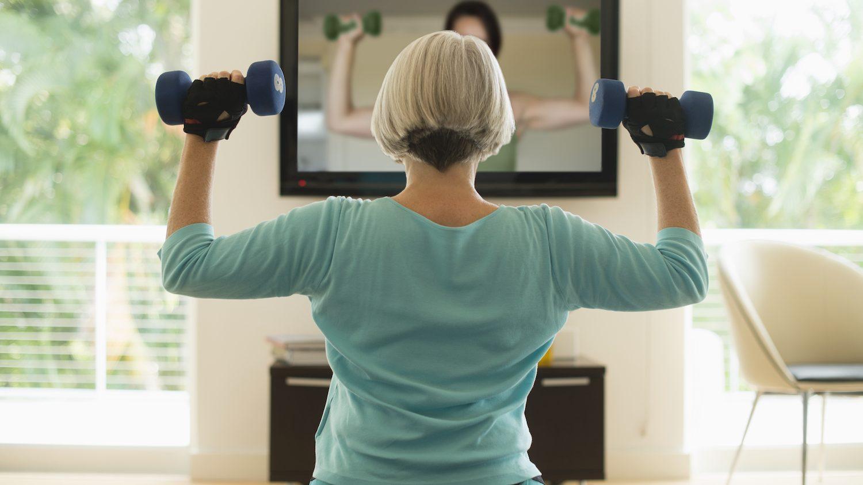Übungen für Frauen im Alter
