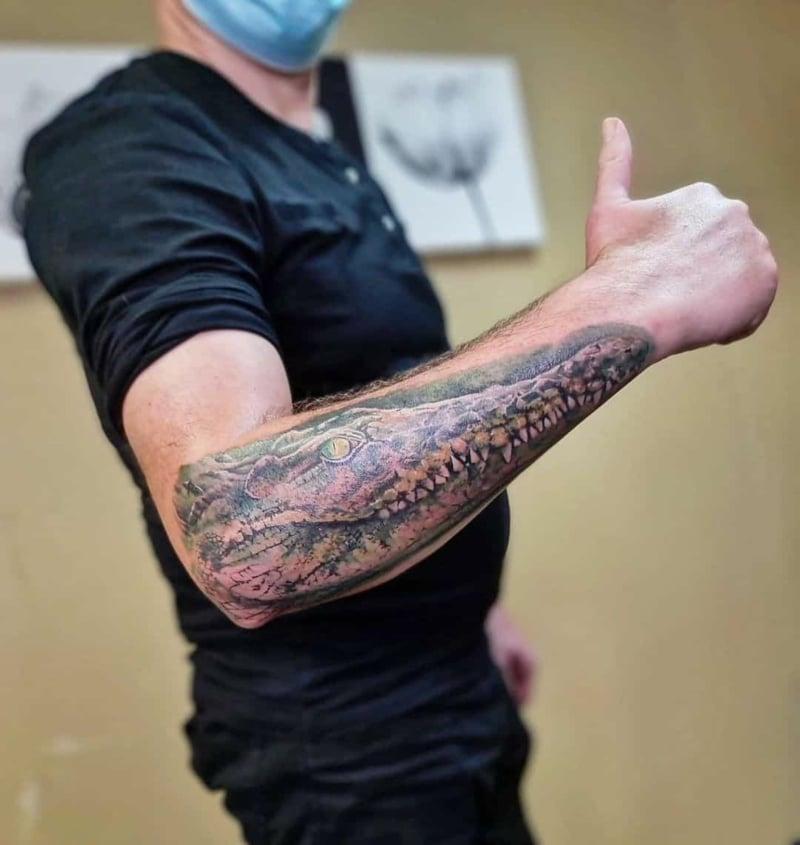 Half Sleeve Tattoo für Männer
