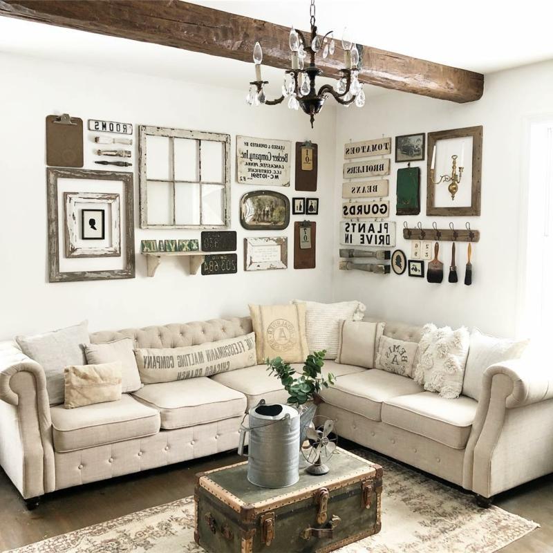 Wohnzimmer tolle Dekoration Vintage Stil
