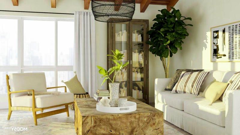 stilvolle Sitzecke Wohnzimmer