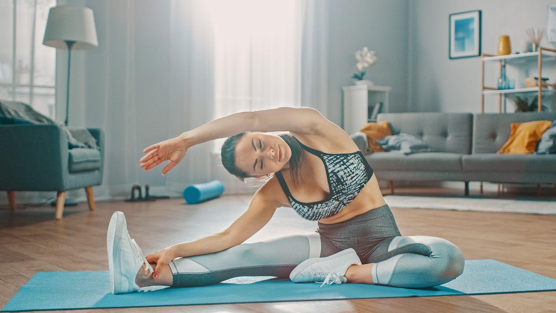 leichte Übungen ab 50 Bauch für Damen