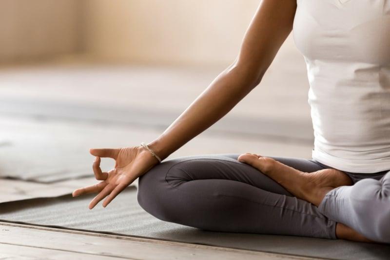 Yogaübungen einfach