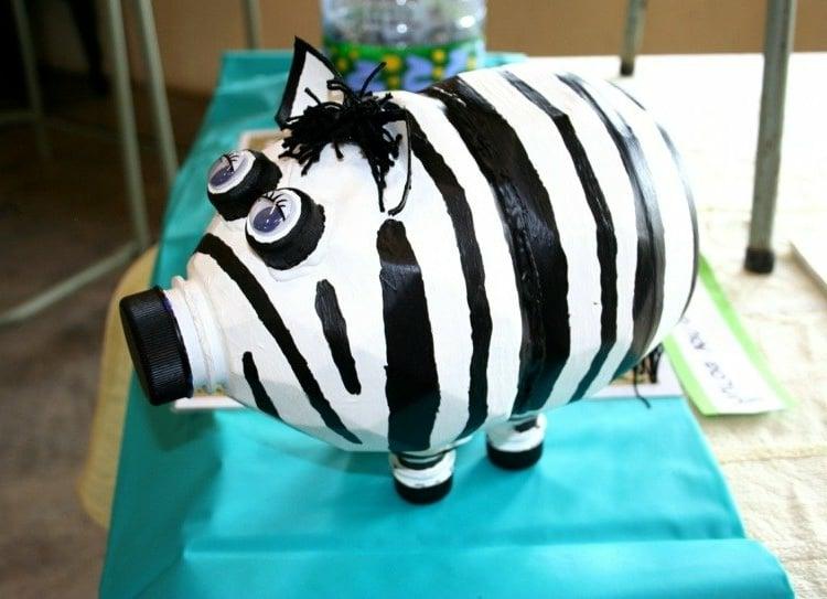 Spardose Zebra herrlicher Look