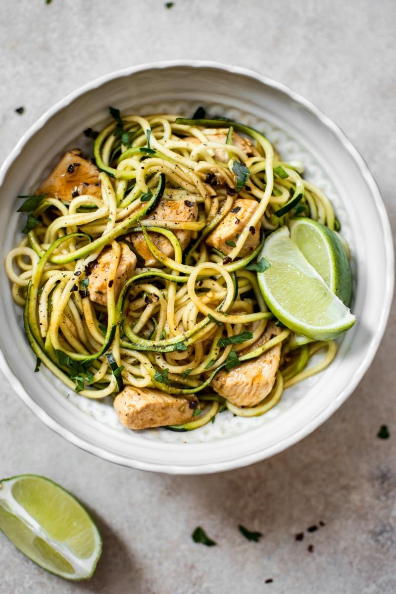 Zucchini Nudeln köstliche Rezepte