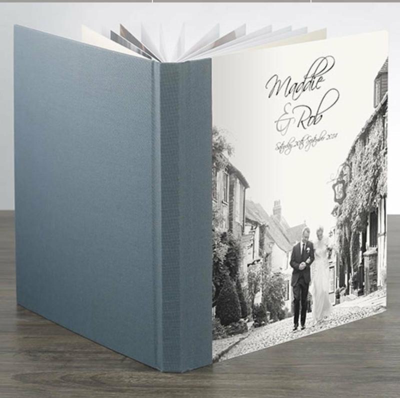 Fotobuch Hochzeit Design Titelseite