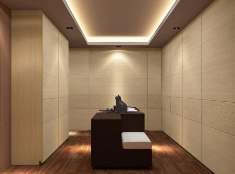 Ankleidezimmer DIY Decke LED-Beleuchtung