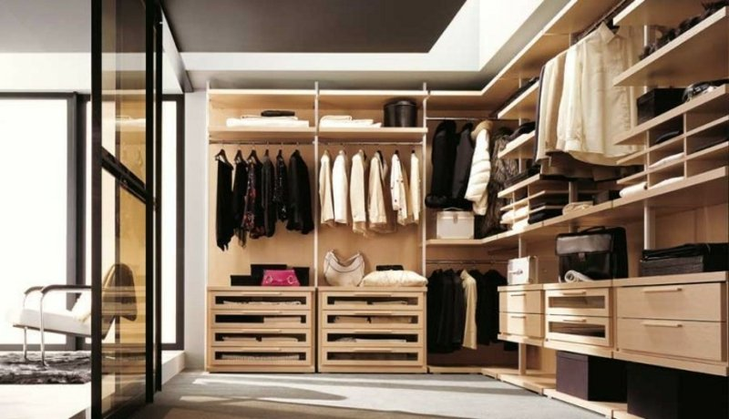 Ankleidezimmer DIY praktische Ideen