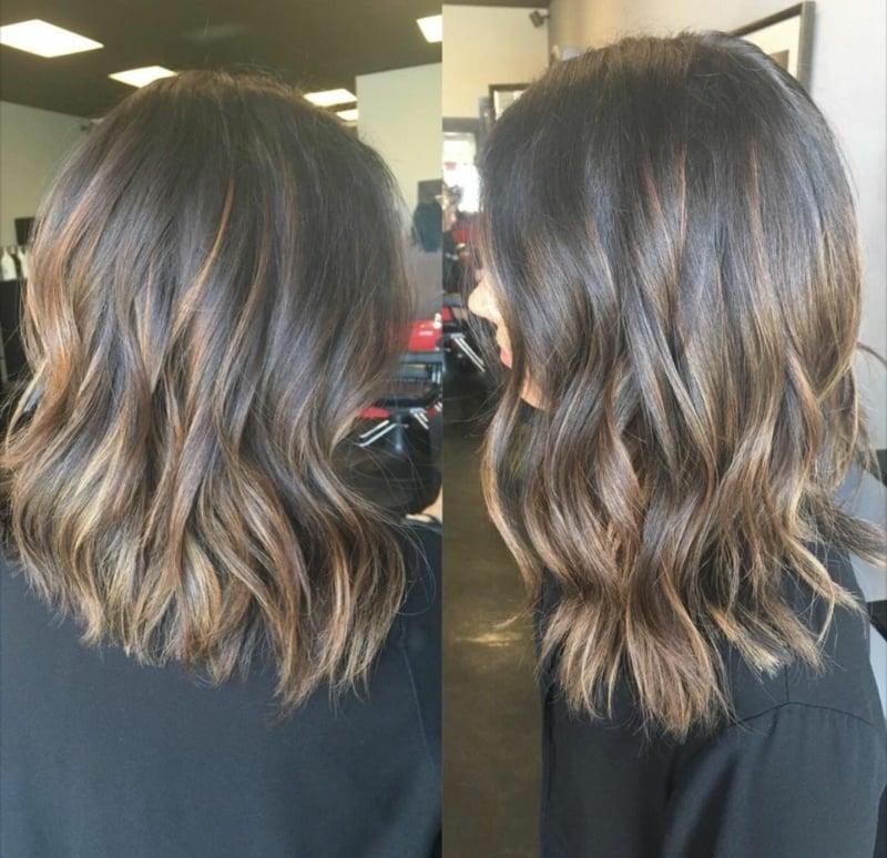 Stufen Frisur richtig pflegen
