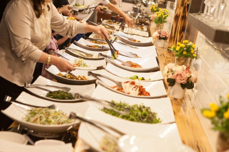 Hochzeit Buffet Ideen für Vegetarier