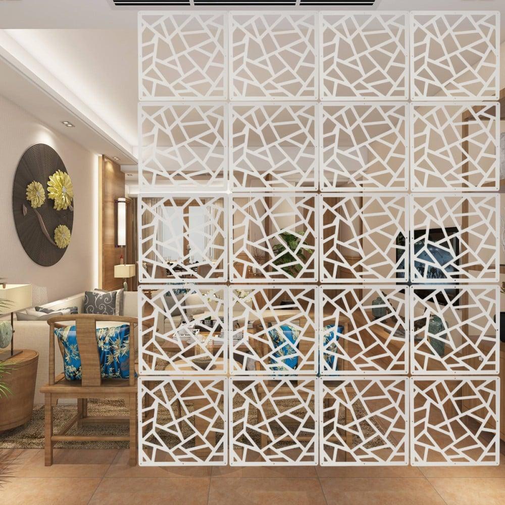 Raumteiler Ideen Paravent dekorativ