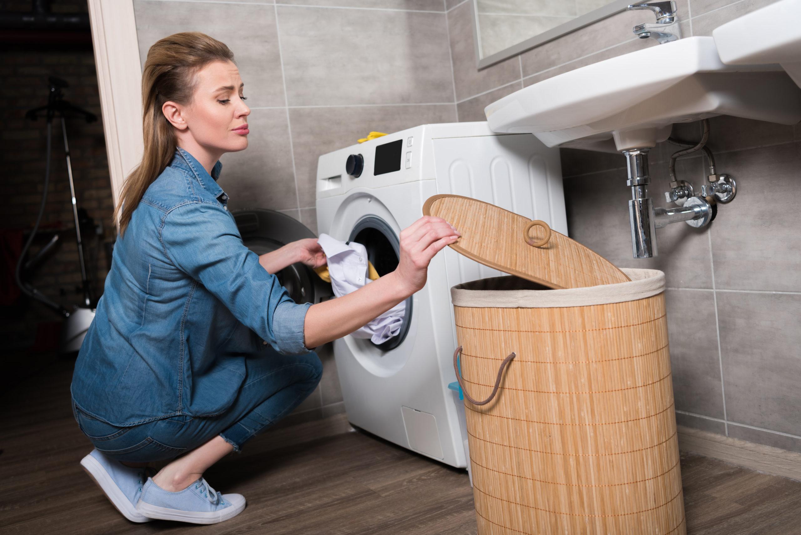 Legen Sie nur frische Wäsche im Schrank.