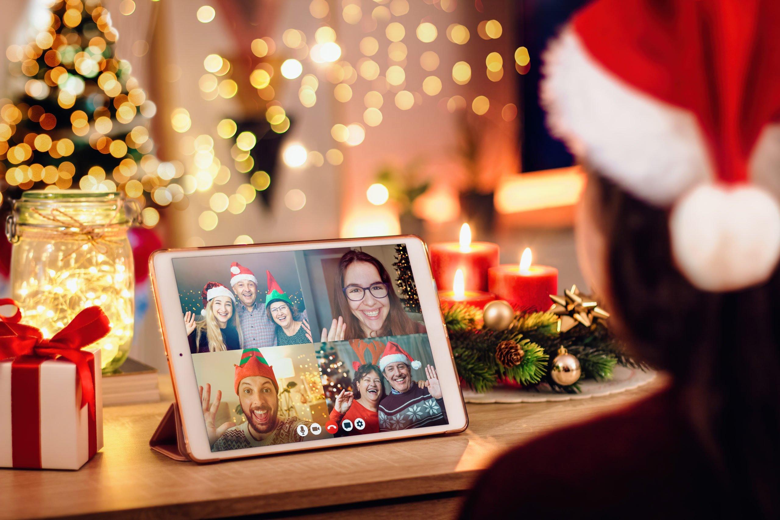 11 Tipps für virtuelle Weihnachtsfeier - so wird ein großes Familienfest möglich!