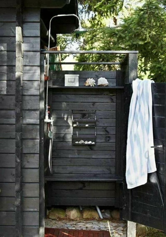 Outdoor Dusche Bauanleitung