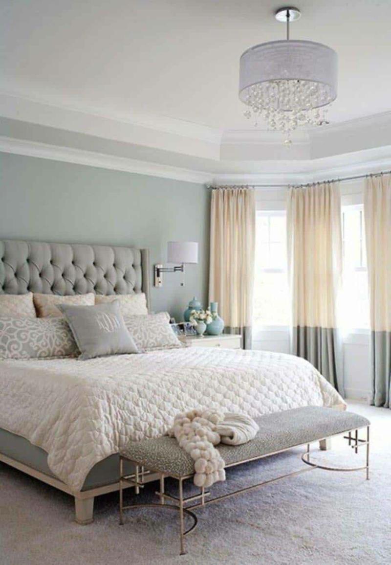 Schlafzimmer streichen pastellige Töne