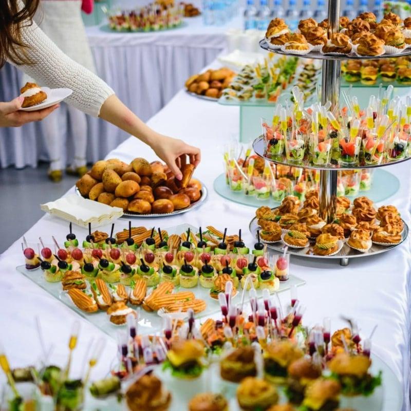 Fingerfood Party Selbstbedienung