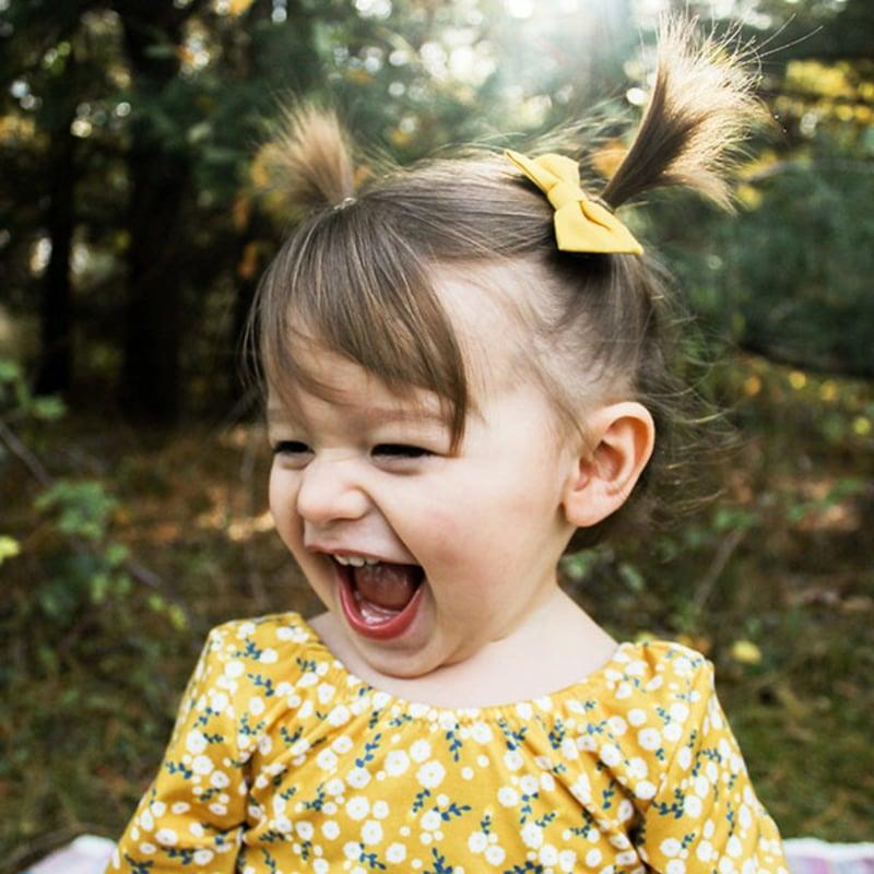 kleines Mädchen fotografieren