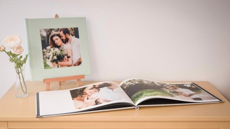 das fertige Fotobuch bestellen