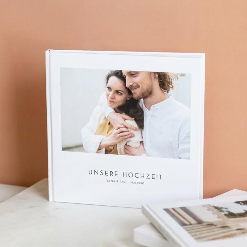 Fotobuch Hochzeit selber gestalten personalisiert