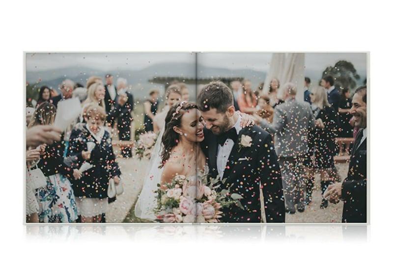 Fotobuch Hochzeit super romantisch