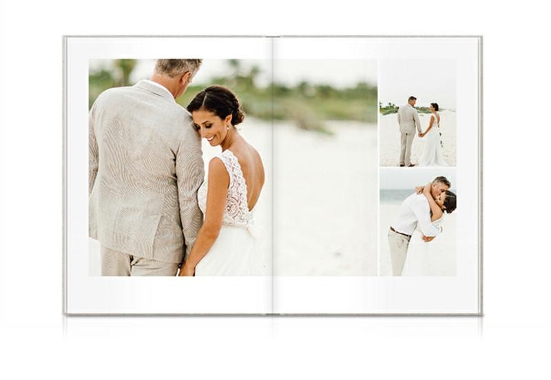 Hochzeitsfotobuch gestalten Anleitung