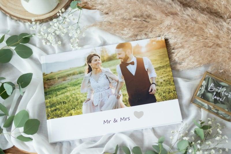 Fotobuch Hochzeit Titelseite Foto