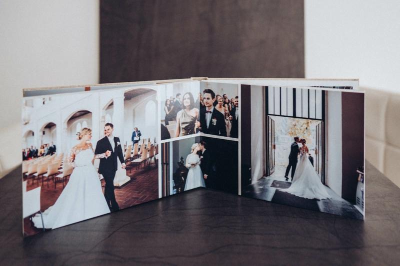 Fotobuch Hochzeit wunderschöne Ideen
