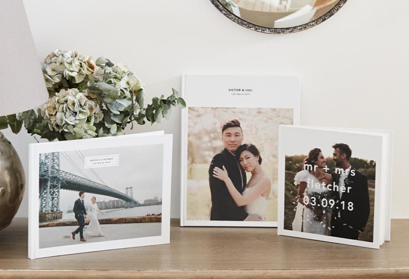 Hochzeitsfotos toll präsentieren