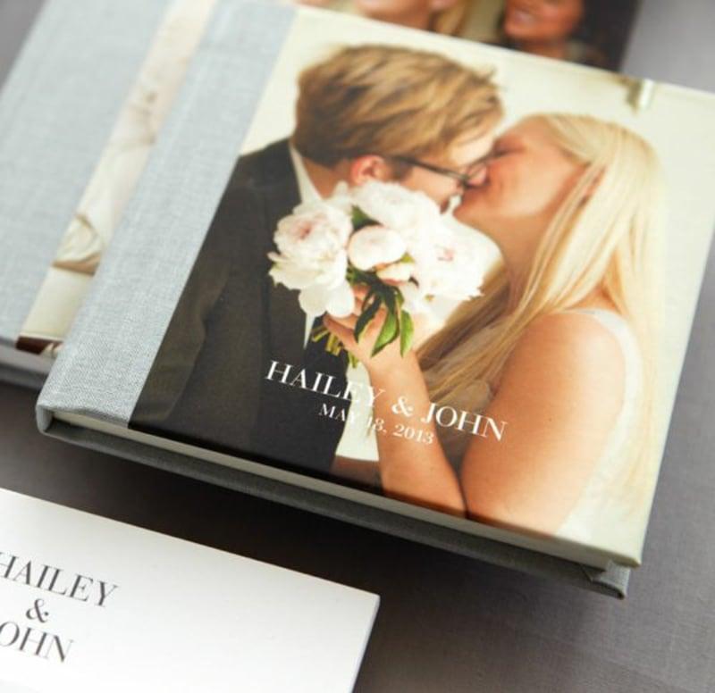 Album romantische Hochzeitsfotos
