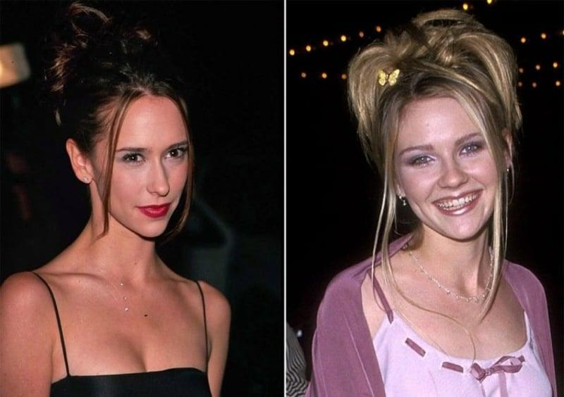 modische Frisuren 90er Jahre