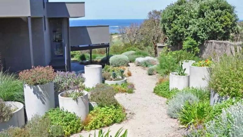 Garten maritim gestalten Pflnazkübel