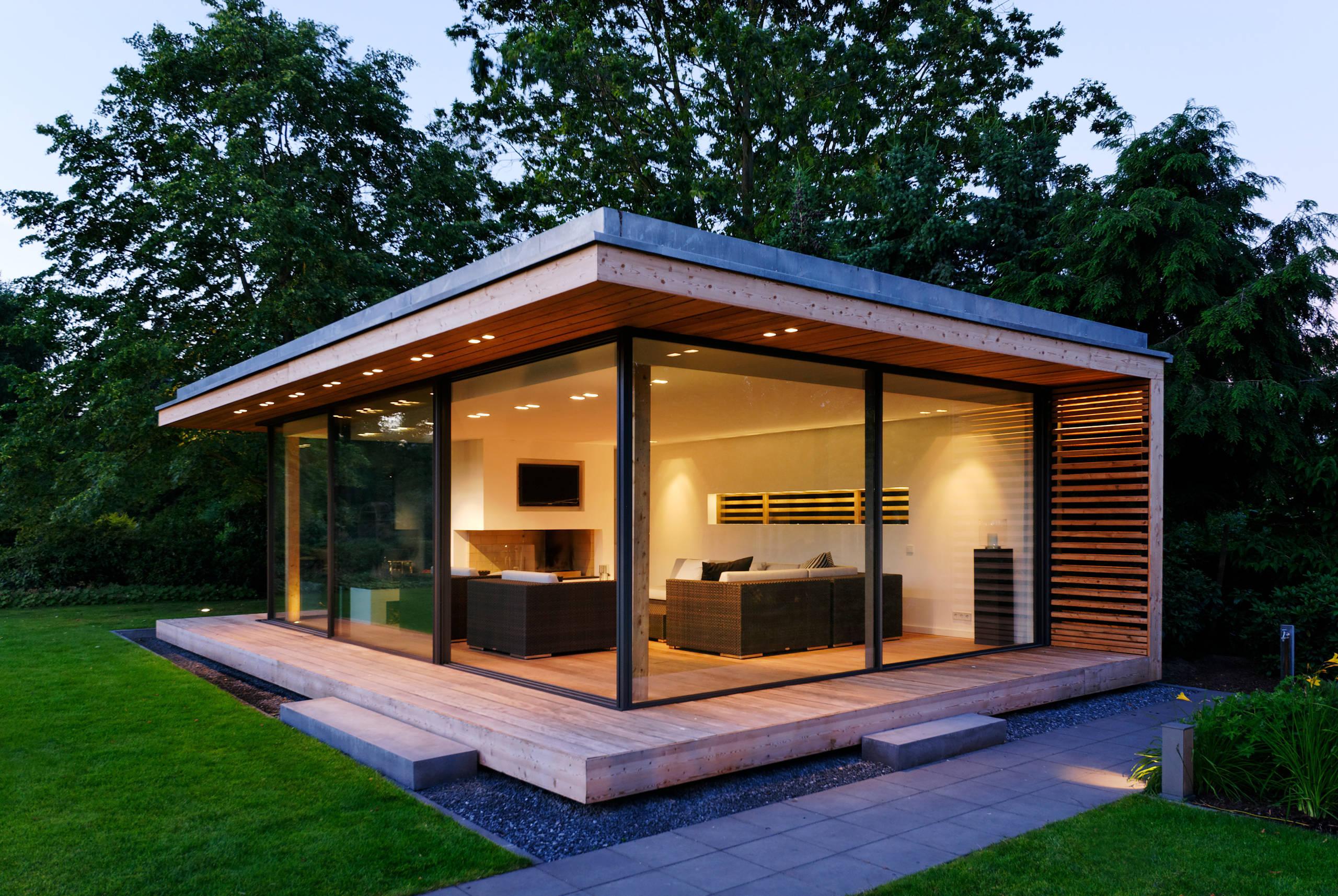 Gartenhaus als zweites Wohnzimmer