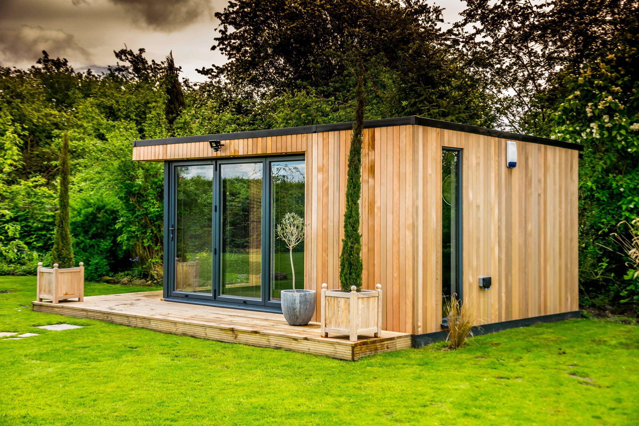 Gartenhaus in eine Wohlfühloase verwandeln - 5 Inspirationen zum Nachmachen