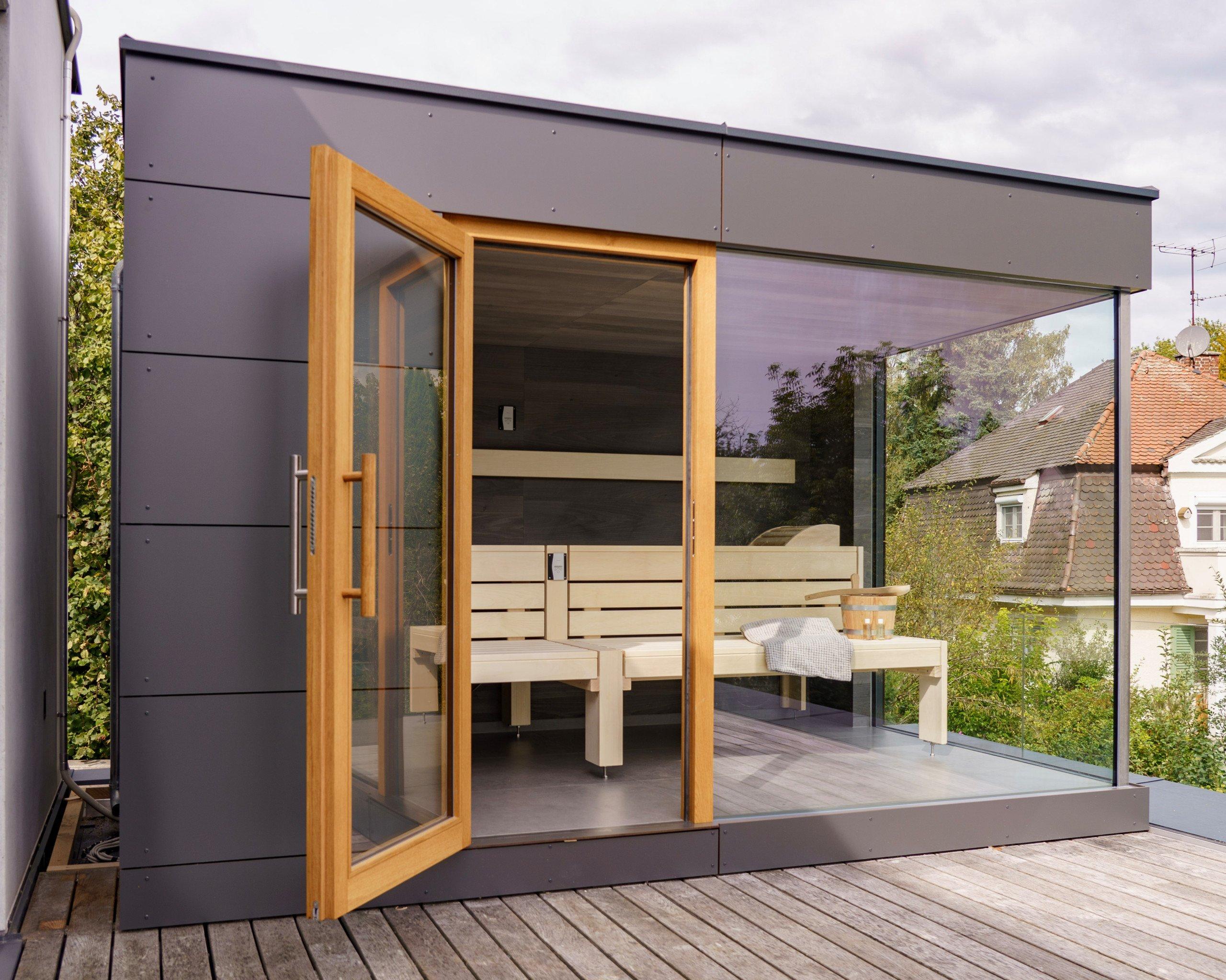 Sauna im eigenen Garten - im Gartenhaus ist das möglich!