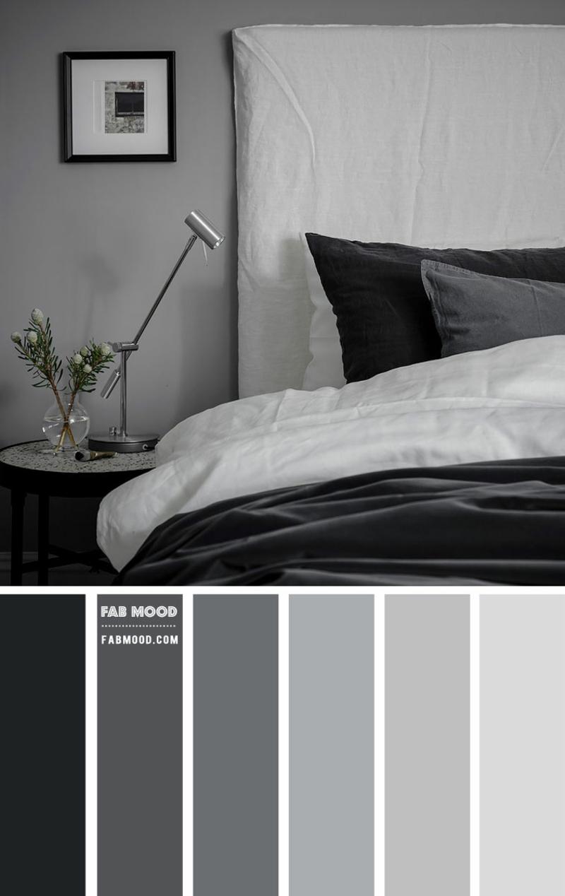 Farbpalette Grau Schlafzimmer