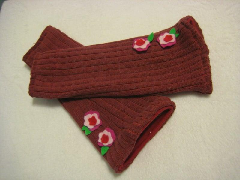 alte Socken upcyceln Handschuhe