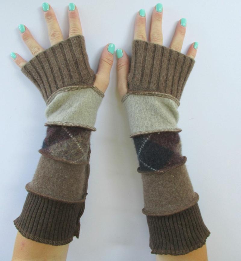 Upcycling Kleidung Winterhandschuhe