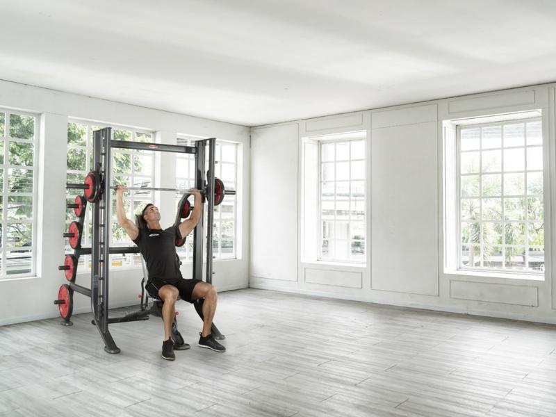 Gewichtheben Fitness-Geräte