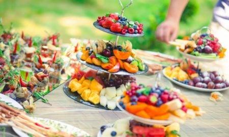 Hochzeit Buffet Ideen frisches Obst