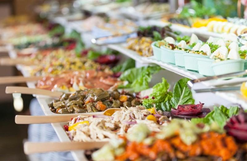 Hochzeit Buffet Ideen vielfältig