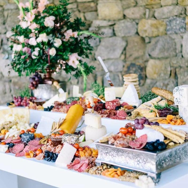 Buffet Vintage Hochzeit