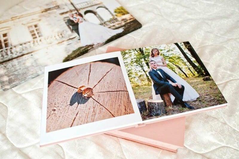 tolle Hochzeitsfotos ein schönes Album gestalten
