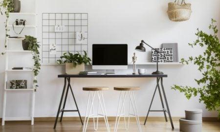 Arbeitszimmer Einrichtung praktische Ideen