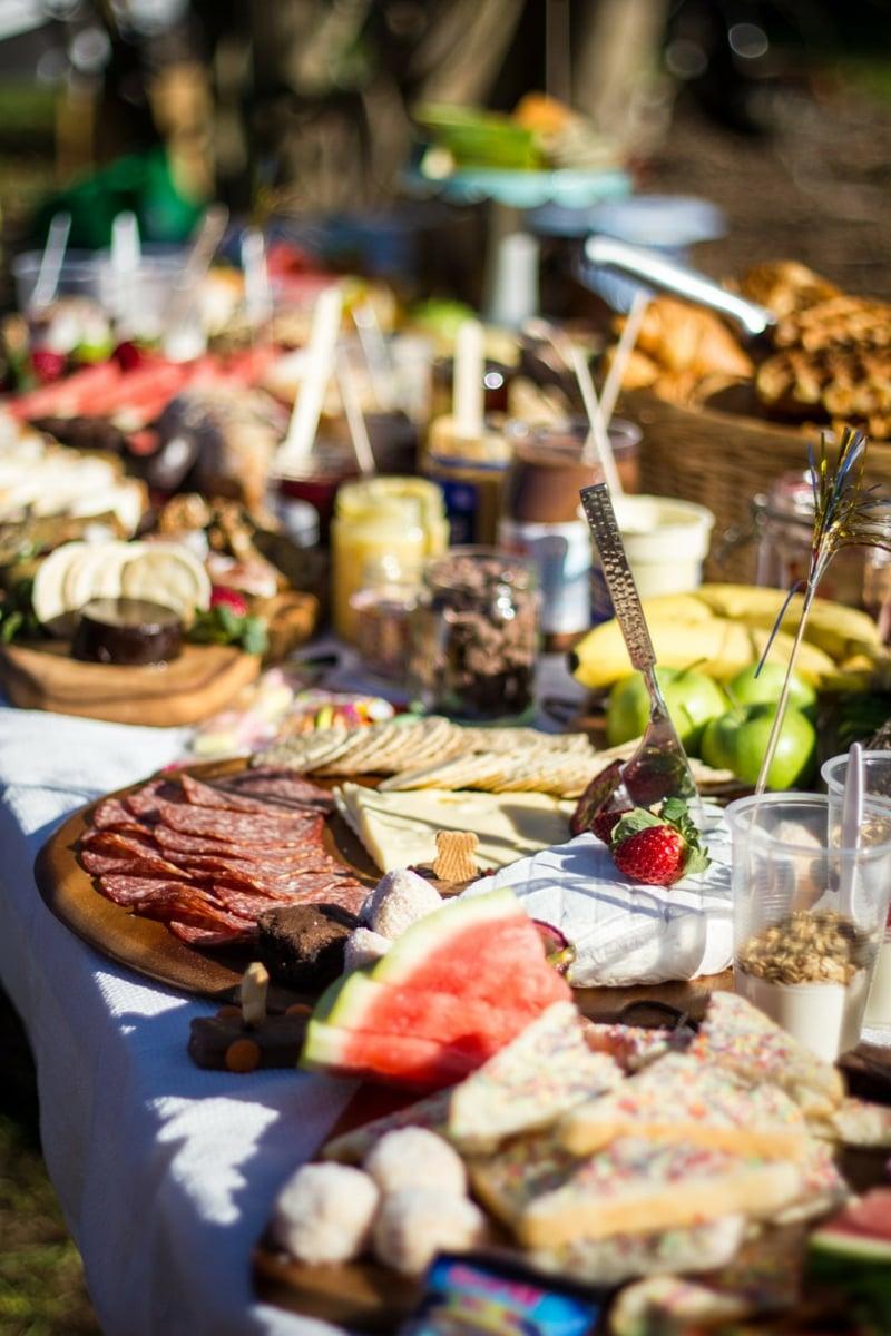 Snacks Hochzeitsbuffet