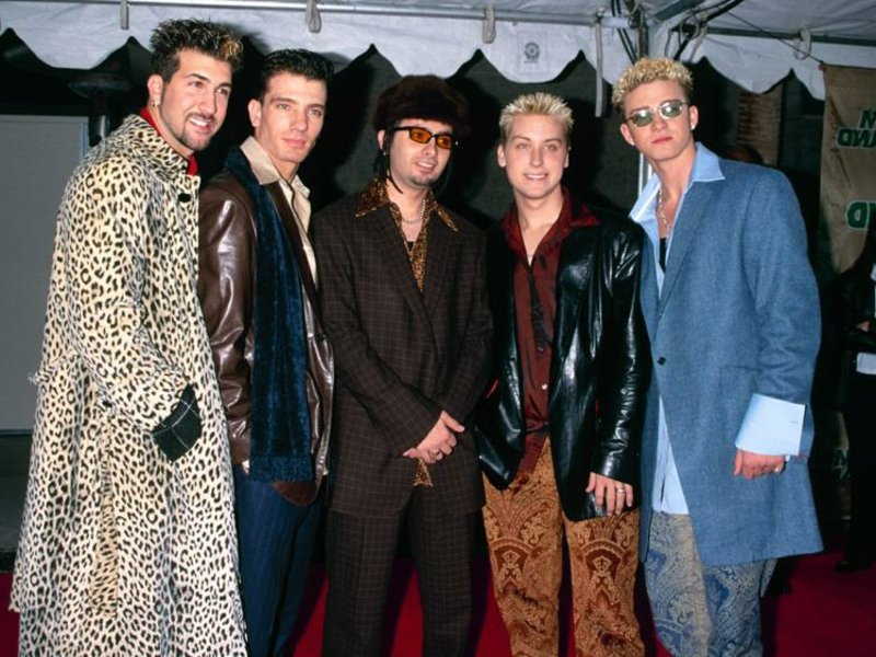 Party Outfit 90er Justine Timberlake