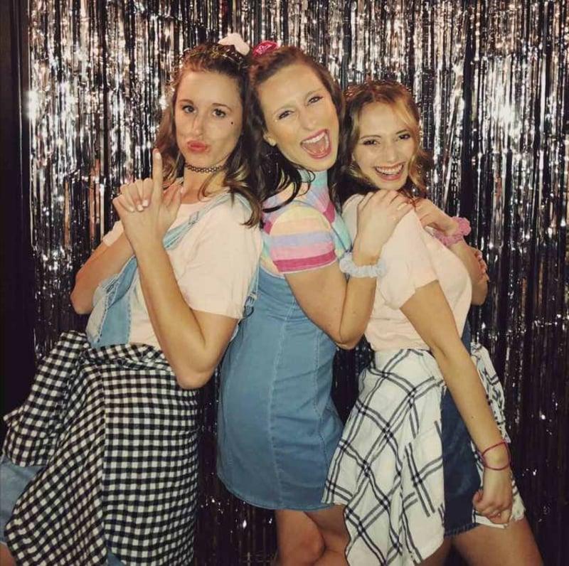 Party Klamotten für Damen Retro Look
