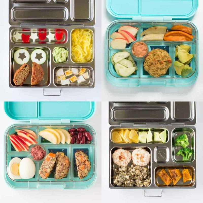 Lunchbox aus Metall oder Plastik