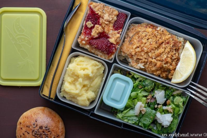 Lunchbox mit hausgemachtem Essen