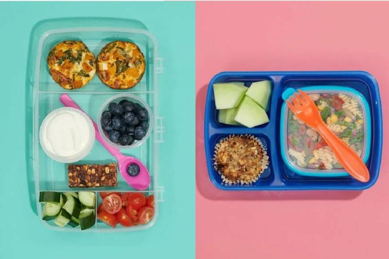 Mittagessen für die Schule