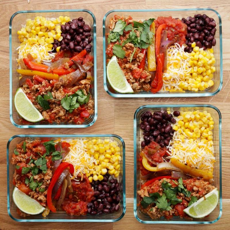 Lunchbox Ideen Taco selbstgemacht