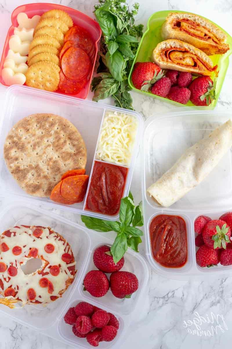 Lunchbox Ideen mit frischen Früchten